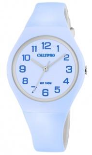 Calypso K5777 Armbanduhr Kinder analog Kunststoff bicolor Uhr K5777/2