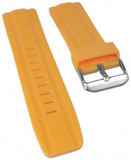 Calypso Watches Uhrenarmband Kunststoff Band gelb mit Struktur für Modell K5704/1