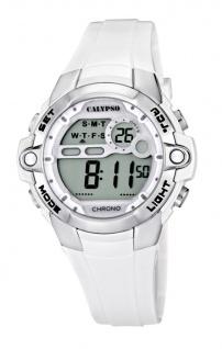 Calypso Armbanduhr Damenuhr Kinderuhr Digital Chrono-Alarm Uhr 10 ATM K5617