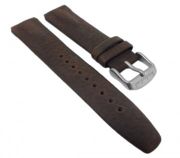 Uhrenarmband Leder Band braun für Timberland 12526G, 95020G - 28114