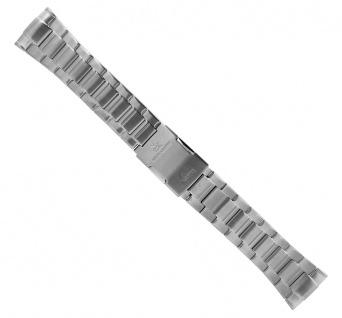 Casio Ersatzband | Uhrenarmband Edelstahl Band Silberfarben für Wave Ceptor WVA-620DE