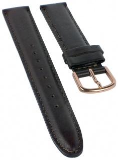 Timex Men's Easy Reader Ersatzband | Uhrenarmband 18mm Obermaterial aus Leder, braun für T2P563