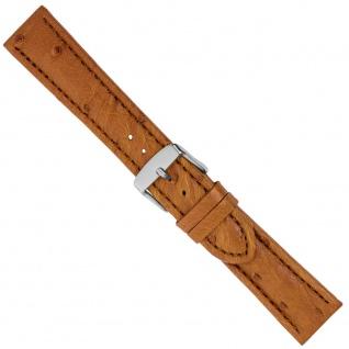 Uhrenarmband Ersatzband Leder Band Braun 26570S