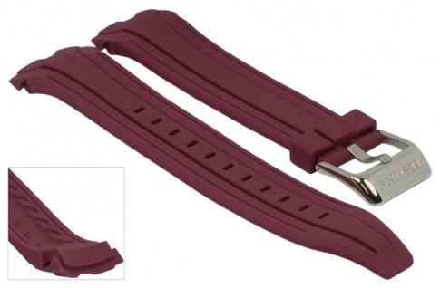 Ersatzband Uhrenarmband Kautschuk Band fuchsie passend zu Festina F16670/3 F16670/alle F16505