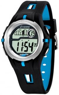 Calypso Herrenarmbanduhr Quarzuhr Kunststoffuhr mit Polyurethanband Alarm-Chronograph digital K5511/2