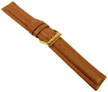 Nappa Uhrenarmband Nappaleder Camelbraun 20560G