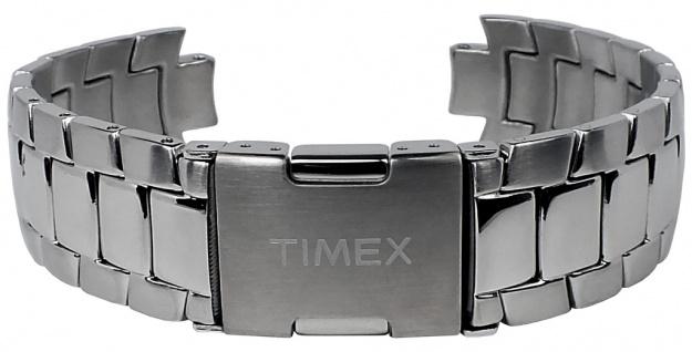 Timex Uhrenarmband Ersatzband Edelstahl silbern 18mm für T2M461