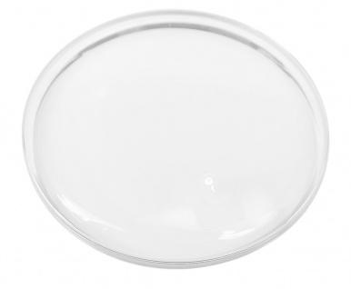 Minott ACL   Ersatzglas rund gewölbt   Uhrenglas Kunststoff armiert Chrom Ultra D   34302