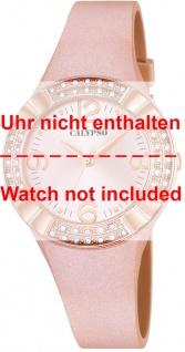 Calypso Ersatzband rosa Kunststoff Dornschließe silberfarben Spezial Anstoß K5659/2 K5659