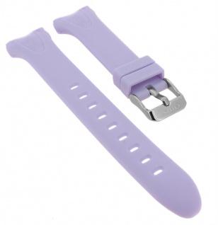Calypso Uhrenarmband lila Band aus Kunststoff mit Breitdornschließe K5741/3