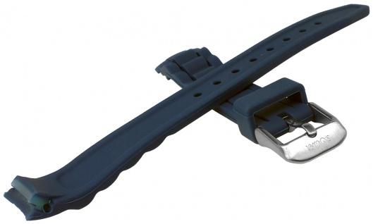 s.Oliver Uhrenarmband Silikon Band sehr weich 14mm petrolblau SO-2590-PQ - Vorschau 2