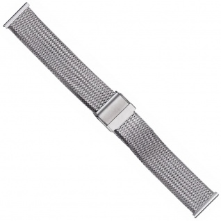 Minott Uhrenarmband Edelstahl Band Milanaise 20mm 21190S