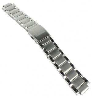 Festina Chronograph Ersatzband 21mm Edelstahl matt gebürstet / glänzend Faltschließe F20343 F16826