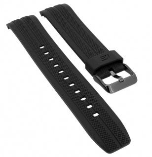 Casio Edifice Chronograph Ersatzband schwarz Resin EFR-556PB-1AV EFR-556PB