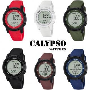Calypso Herrenarmbanduhr Quarz Polyurethanband Alarm Chronograph digital K5698
