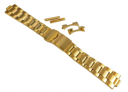 Minott Uhrenarmband Edelstahl Band mit Wechselanstoß 24403G