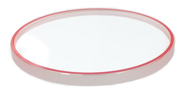 Casio Edifice Chronograph Uhrenglas Mineral rund Ersatzglas EQS-600BL EQS-600