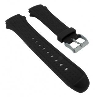 Calypso Herren Ersatzband schwarz Kunststoff Dornschließe K5722/1 K5722