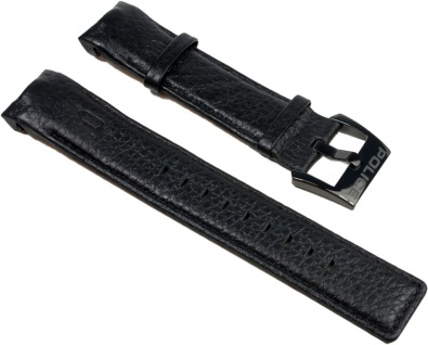 Police Vice Uhrenarmband Leder Band schwarz für P13592JSB-02
