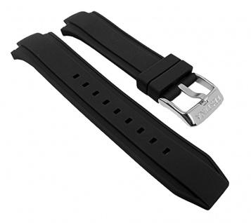 Uhrenarmband Kunststoff Band schwarz für Festina F16667/6 F16667/alle