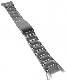 Casio Armband | Uhrenarmband Edelstahl Band Silberfarben Collection AE-2000WD