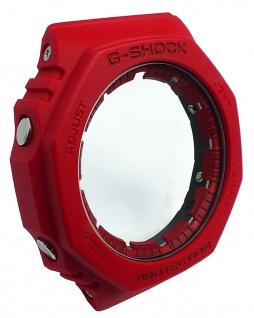 Casio G-Shock Gehäuse CASE/CENTER ASSY rot Resin GA-2100-4A GA-2100