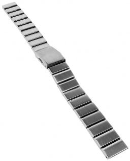 Casio Armband | Uhrenarmband Edelstahl Band Silberfarben für Collection LTP-1355D
