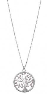 Lotus Silver Halsschmuck Collier Kette mit Lebensbaum Anhänger Silber LP1897-1/1