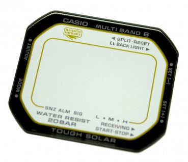 Casio G-Shock Mineral Ersatzglas schwarzer Rand GW-M5630D-1 GW-M5630D