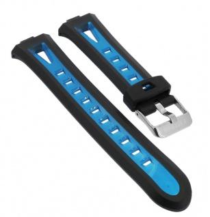 Calypso Digital Uhrenarmband aus Kunststoff blau mit Schließe silberfarben K5666/4 K5666