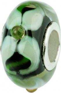 Charlot Borgen Marken Damen Bead Beads Drops Kristallglas Silberkern GPS-48schwarz