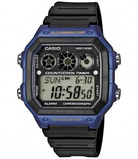 Casio Herren Armbanduhr Digitaluhr Resin Tagesalarm AE-1300WH-2AVEF