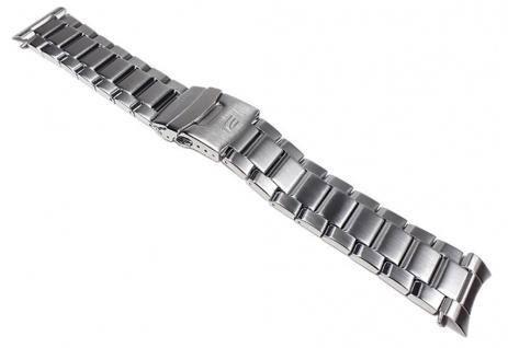 Casio Uhrenarmband Edelstahl Band Silberfarben für EF-132D