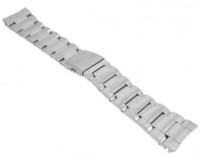 Casio Uhrenarmband Edelstahl Band Silberfarben für Collection MTF-E004-1AVER