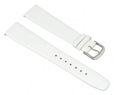 Graf Manufaktur Jazz XL Uhrenarmband Kalbsleder Band weiß 26157S
