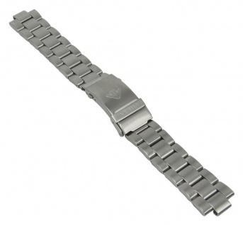Uhrenarmband Edelstahl Band silberfarben passend zu vielen Citizen Uhrenmodellen