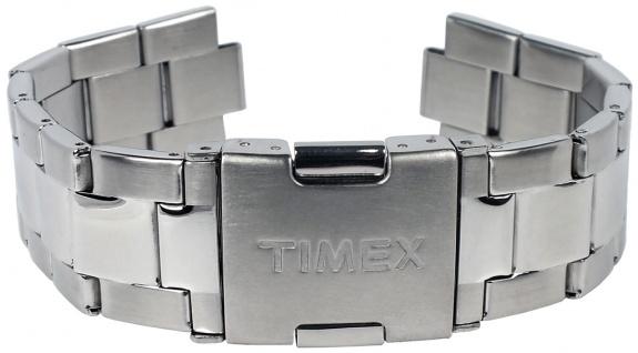Timex Chasapeake Uhrenarmband Ersatzband Edelstahl silbern 20mm für TW2P77200 - Vorschau 2