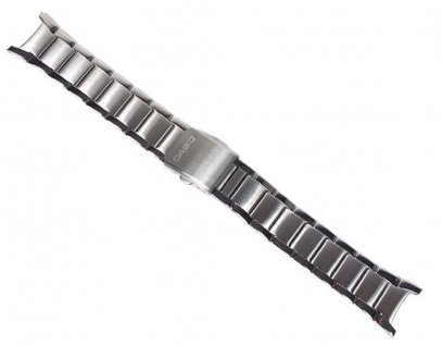 Casio Collection Uhrenarmband Edelstahl Band für MTP-1229