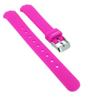 Calypso Ersatzband aus Silikon in pink mit Schließe silberfarben Spezial Anstoß => K6069/1
