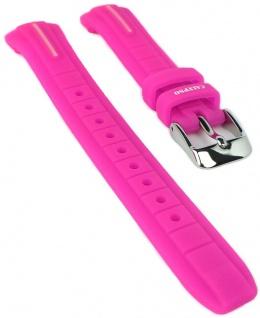 Calypso Ersatzband pink Uhrenarmband Kunststoff Band Dornschließe K6068/1 K6068