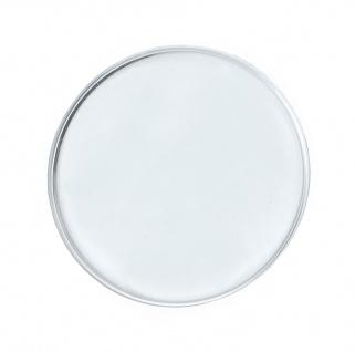 Minott ATCT   Ersatzglas rund gewölbt   Uhrenglas Kunststoff armiert Chrom   32749