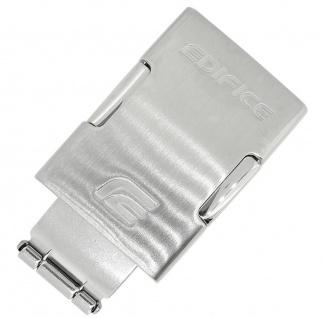 Casio Edifice Faltschließe 20mm Edeltstahl silbern ECW-M100D ECW-M100DB ECW-M100