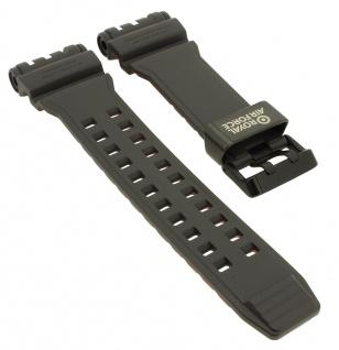 Casio G- Shock Gravitymaster Ersatzband grau Resin Band schwarze Schließe GPW-1000RAF-1A GPW-1000RAF