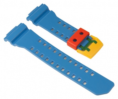 Casio Uhrenarmband Resin Band Blau für GA-400 10477028