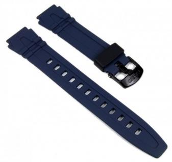 Casio Uhrenarmband Resin Band Blau HDD-600C-2AVW HDD-600C