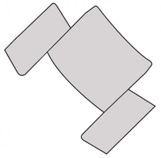 Junghans Aviator Ersatzteile 1x Ersatzglied kurz Edelstahl 056/4700 056/4710