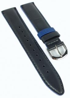 Timex Easy Reader Ersatzband 20mm Leder grau glatt Naht PW2R62400 TW2R62400