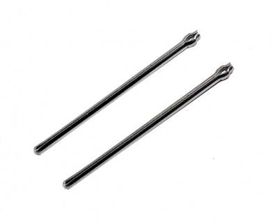 Minott Stifte | 2x Open End Pins / Splintstifte | Ø 1, 0 | 32283