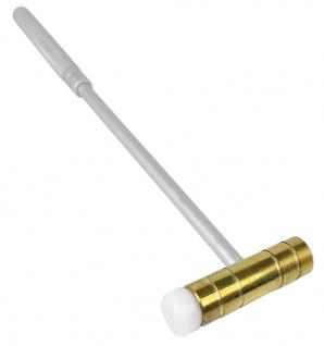Minott Uhrmacherwerkzeug 54mm Uhrmacherhammer Stiel Messinghammer Nylon