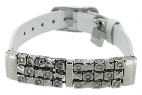 Lotus Style Damen Armband Edelstahl Leder LS1149-2/1